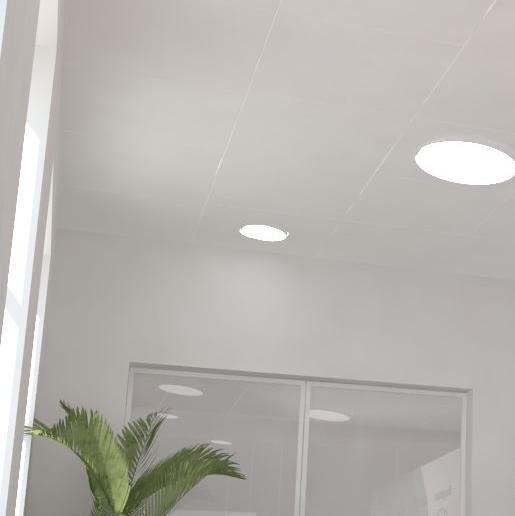 led downlight, clip-in richtbare led, clip-in, inlegtegels