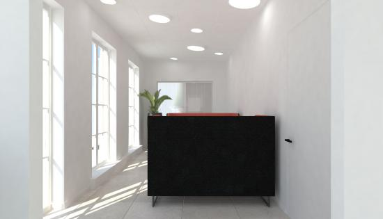Ronde richtbare LED modules in clip-in systeemplafond